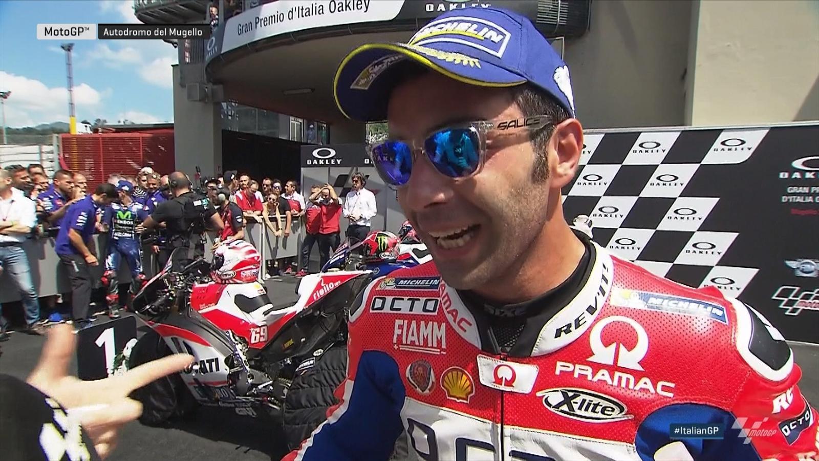 6c03db78dbfddc VIDEO - MotoGP - Danilo Petrucci (Ducati Pramac)