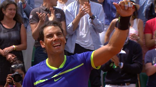 Høydepunkter Bautista Agut - Nadal