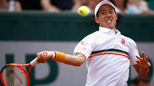 Tennis - Roland-Garros : Monfils en 8es de finale sur abandon de Gasquet