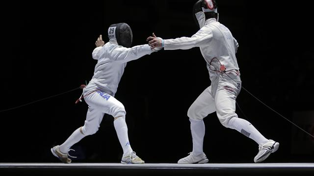 Curatoli wins gold in men's sabre at FIE Grand Prix in Moscow