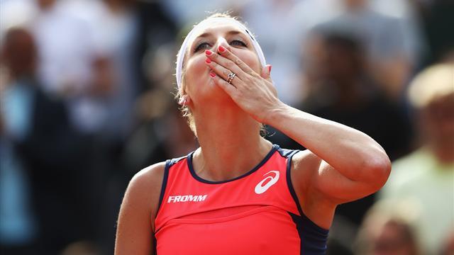 Federer, Wawrinka, Hingis : Timea et ses inspirations martiennes