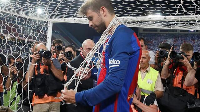 Piqué pide no comparar logros de Barcelona con dos temporadas del Real