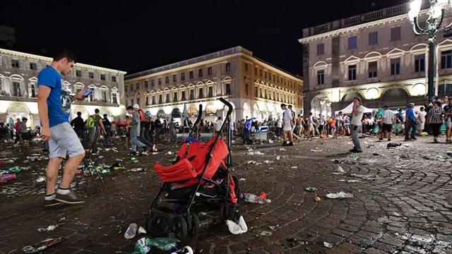 El niño herido en Turín ya está despierto y consciente tras salir del coma
