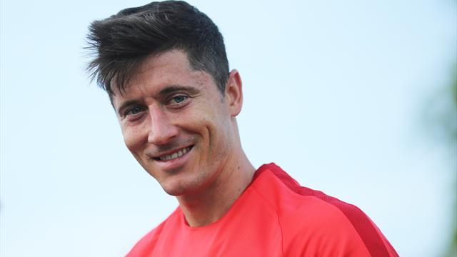 Lewandowski kontra Milik w Eurosporcie