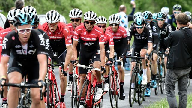 Dauphiné: Contador, lejos de los mejores pero contento de cara al Tour