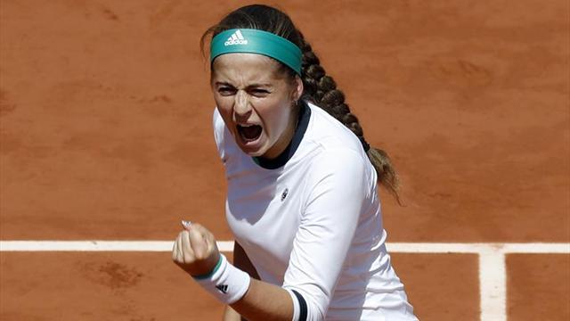 La letona Ostapenko, semifinalista en Roland Garros
