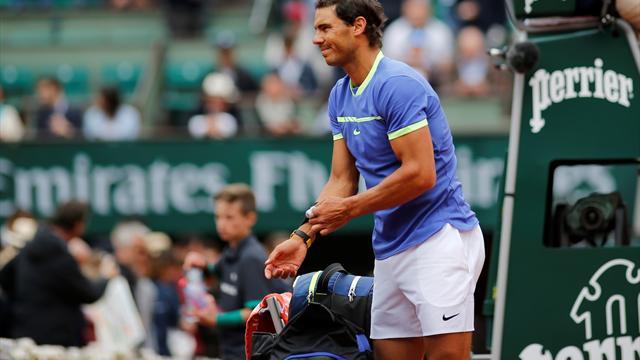 Nadal kestirme yoldan yarı finalde