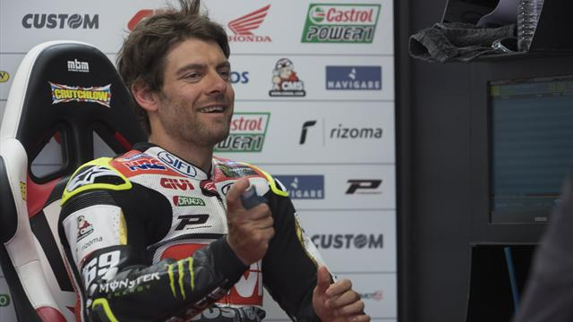 Factory Honda contract keeps Crutchlow at LCR