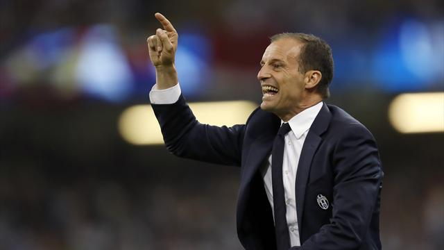 Juventus coach Allegri renews contract until 2020