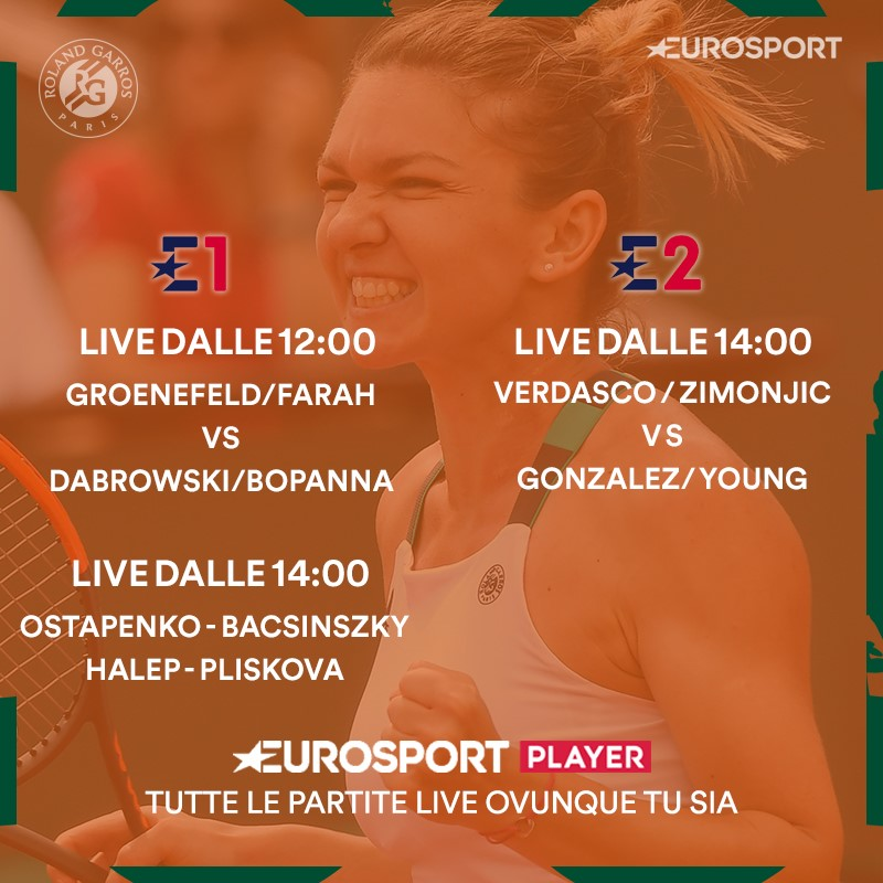 Roland Garros Order of Play  - Day 12