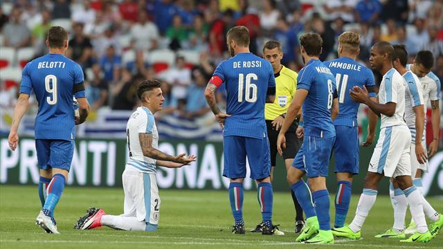 Le pagelle di Italia-Uruguay 3-0: che bravo Spinazzola, Gabbiadini flash
