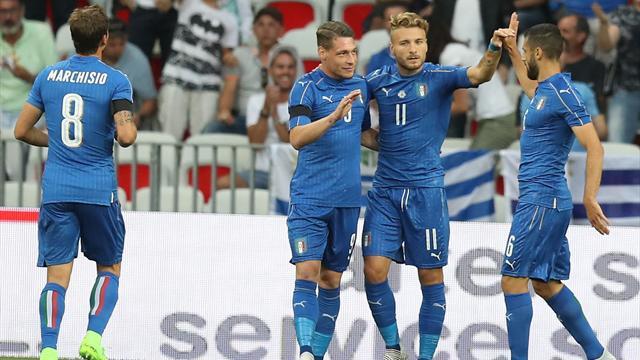 L'Italie a surclassé l'Uruguay