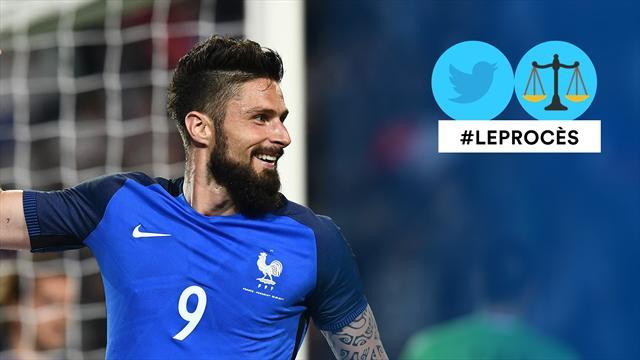 Le procès Twitter : Giroud n'est-il bon qu'à marquer contre des petites nations en match amical ?