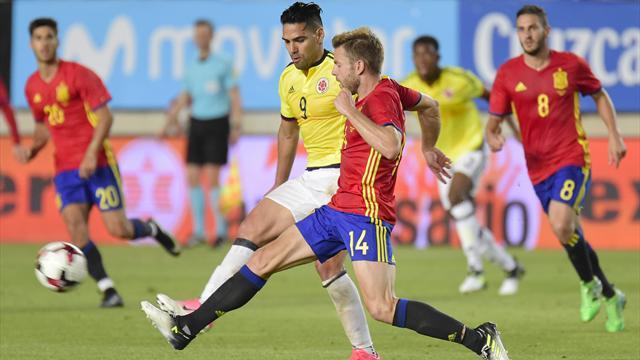 La Colombie et Falcao ont tenu tête à l'Espagne