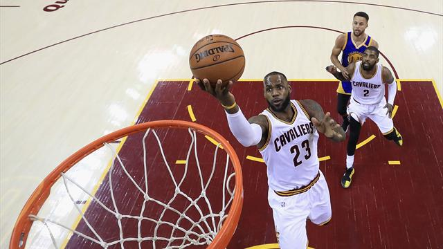 LeBron's best not good enough in crushing loss to Warriors