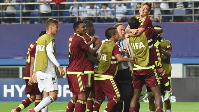 Venezuela reaches U20 World Cup final by beating Uruguay