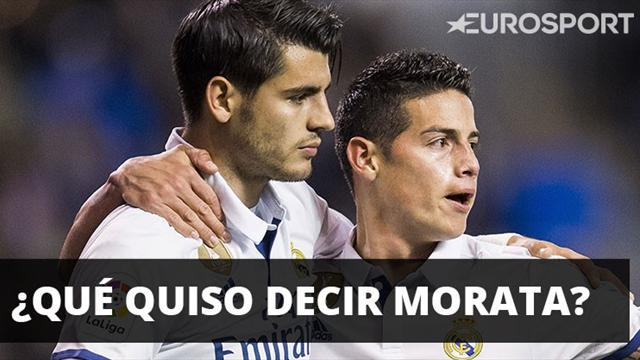 Guiño de Álvaro Morata al Manchester United