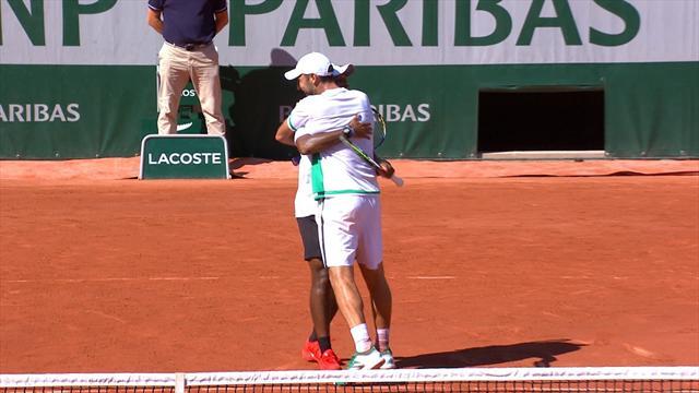 Un mexicano en la final de dobles de Roland Garros