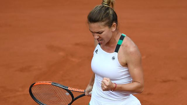 Halep kariyerinin ikinci Roland Garros finalinde
