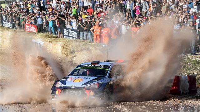 Neuville übernimmt Führung bei Rallye in Italien