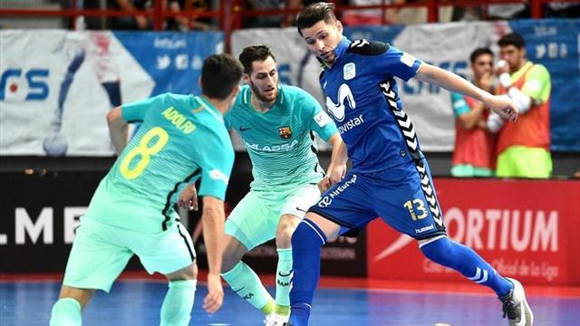 Final LNFS, Movistar Inter-Barça: Cielo o infierno (Quinto partido, serie 2-2)