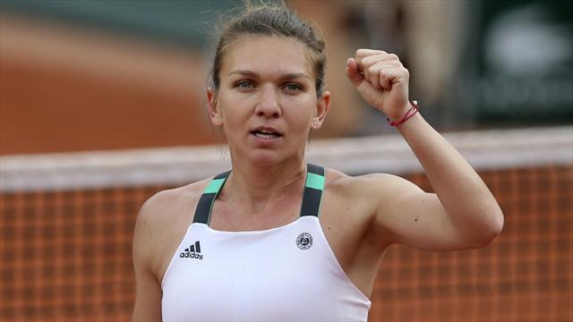 Simona Halep brushes off injury worries ahead of French Open final