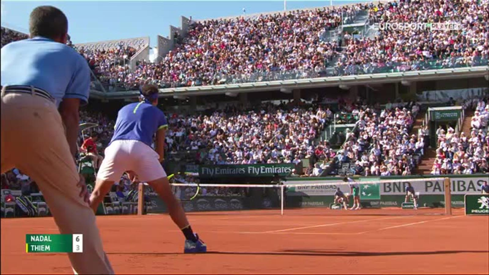 Video french open 2017 classy nadal lob leaves thiem - University league tables french ...