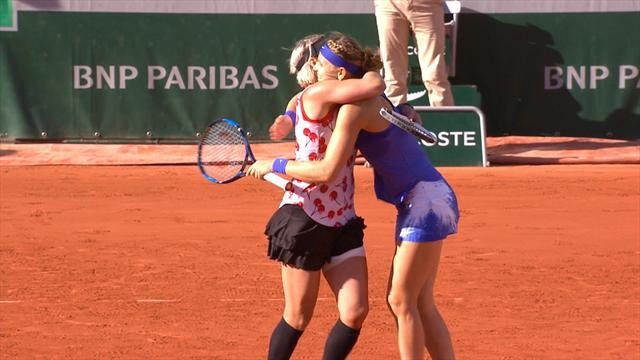 Mattek-Sands and Safarova win French Open doubles, third straight major