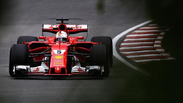 Le Ferrari volano anche nelle ultime libere: Vettel davanti a Raikkonen e Hamilton