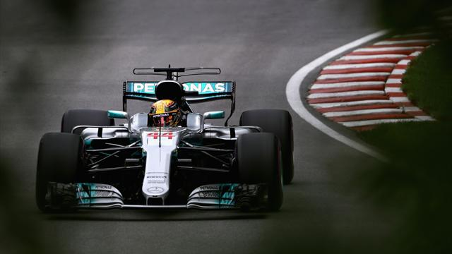 Hamilton takes Montreal pole with record-breaking lap