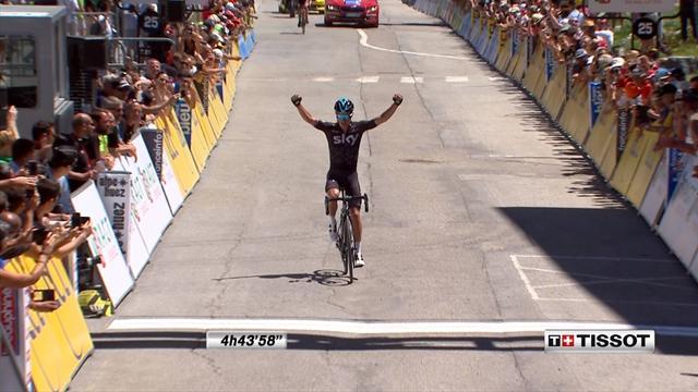 Dauphiné, Aosta-Alpe d'Huez: Así fue la llegada a meta de Peter Kennaugh