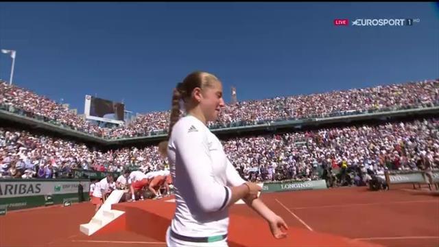 Tennis: a Parigi finale Halep-Ostapenko