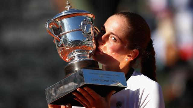 "Ostapenko : ""Je pense que je peux gagner aussi Wimbledon"""