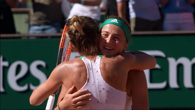 Fransa Açık: Jelena Ostapenko - Simona Halep (Özet)