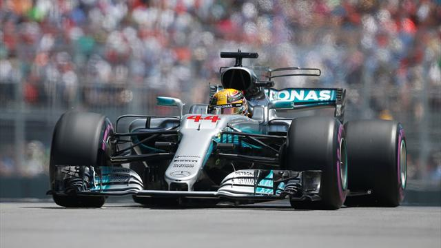 Canadian Grand Prix qualifying: Hamilton magnificent in Montreal