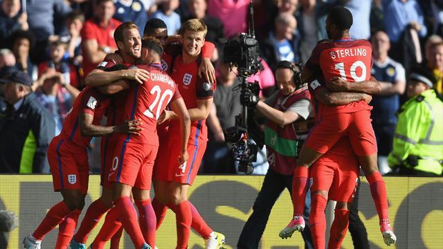 Une fin de match totalement folle et l'Angleterre ramène un nul d'Ecosse