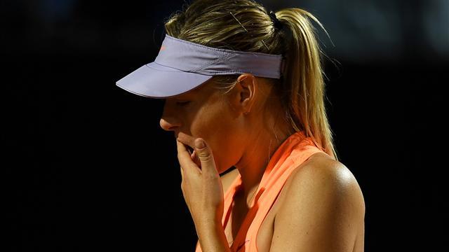 Pas de Wimbledon non plus pour Sharapova