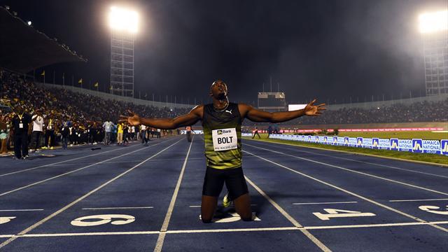 L'éclair Bolt illumine une dernière fois Kingston