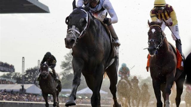 Victoria de Tapwrit en la Belmont Stakes