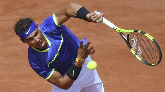 Nadal wins first set against Wawrinka
