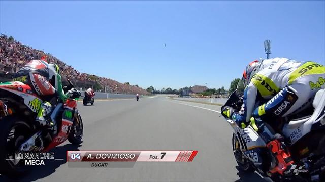 Les énormes freinages de Marquez, la superpuissance de la Ducati : la course en caméra embarquée