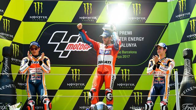 Dovizioso takes second win in a row for Ducati