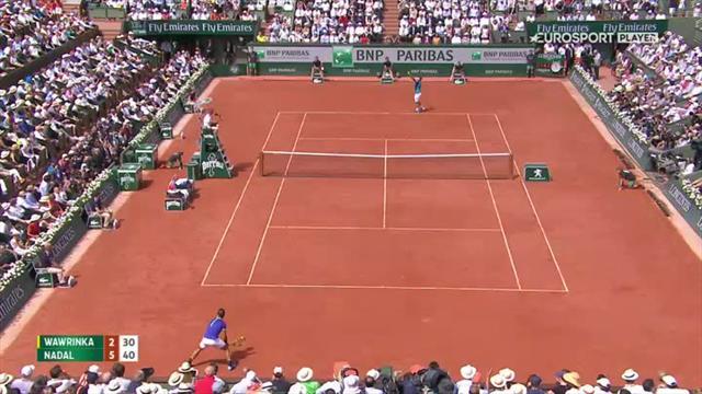 Her avgjør Nadal åpningssettet