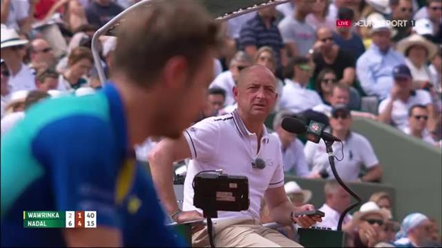 Nadal produces 'the shot of shots' against Wawrinka