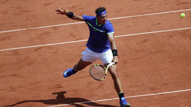 Nadal 2, Ostapenko 12. sıraya tırmandı