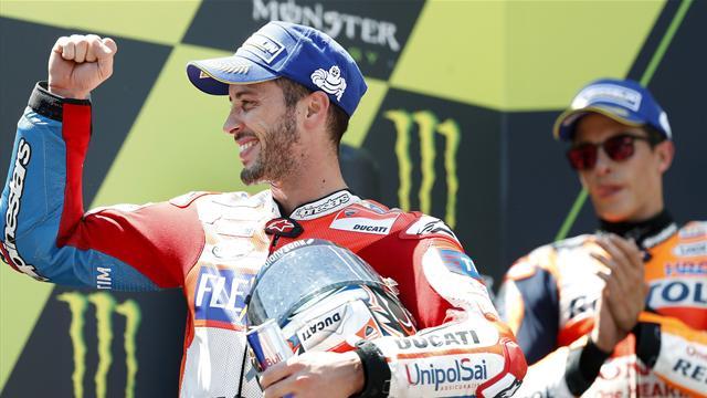 """Dovizioso: """"Un weekend strano, la Ducati ha curato i dettagli ed è trionfo"""""""