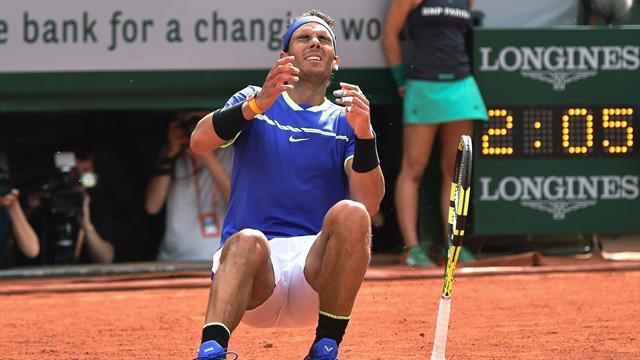 Un dernier revers raté et Wawrinka a envoyé Nadal au paradis