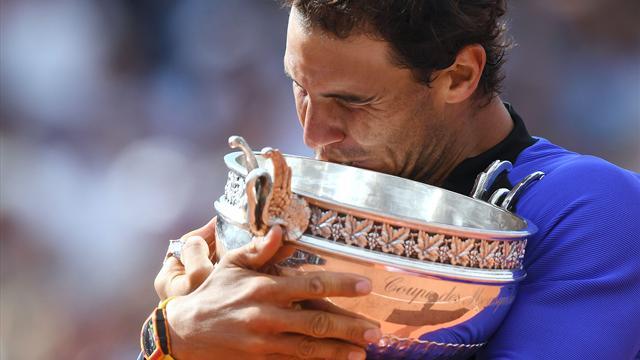 Los 10 Roland Garros de Rafa Nadal