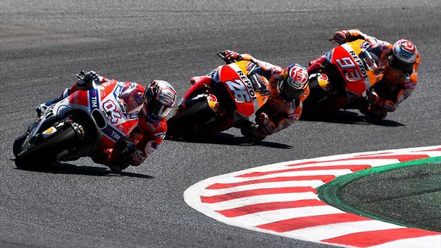 MotoGP, Gran Premio de Austria: Márquez, segundo en un carrerón de Dovizioso