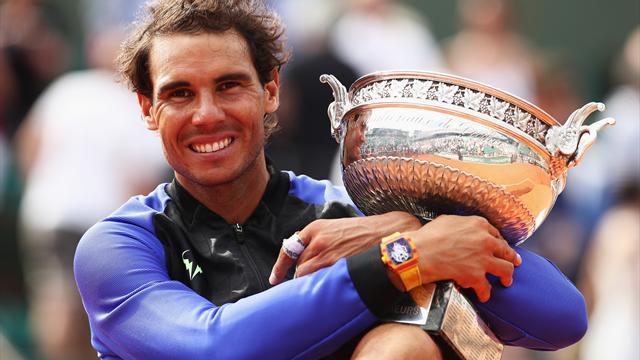 Roland Garros 2017, Wawrinka-Nadal: Inhumano diez veces 2-6, 3-6 y 1-6